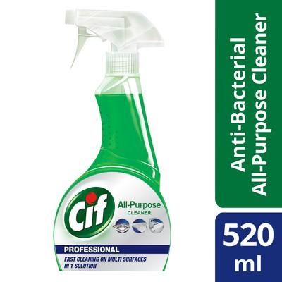 Purchase Wholesale Cif Professional All Multipurpose Cleaner Spray 520ml 12 Units Per Carton From Trusted Suppliers In Malaysia Dropee Com