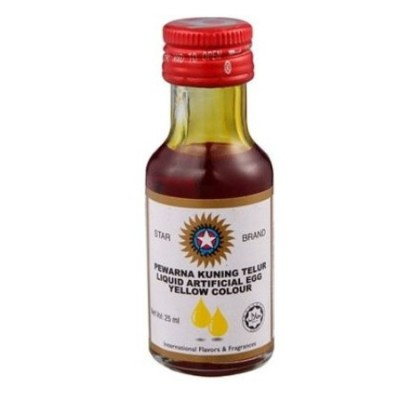 STAR BRAND Food Coloring- Egg Yellow 25ml