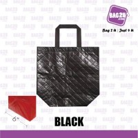 Bag2u Non-Woven Bag (Black) NWB15126 (5 Grams Per Unit)