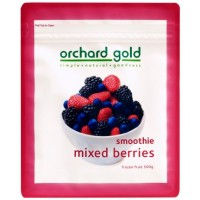 ORCHARD GOLD SMOOTHIE BLEND MIXED BERRY 500G (8 Units Per Carton)