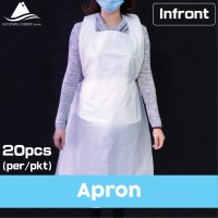 [20PCS PKT] Disposable Plastic HM Apron