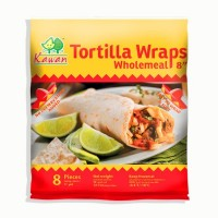 "Tortilla Wraps Wholemeal 8"" (8 pcs - 360g) (24 Units Per Carton)"