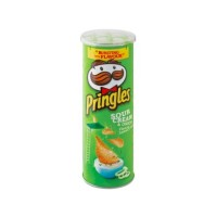 Pringles Snack Sour Cream & Onion 107g (12 cans /Carton) (12 Units Per Outer)