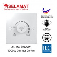 SELAMAT 1000W Dimmer Control (6 Units Per Outer)