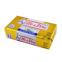 Elle & Vire Unsalted [Doux] Butter 200gm per pack [sold per pack]