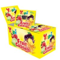 YUPI Mini Fruit Cocktails [12 x 15g] (144 Units Per Carton)
