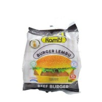 Ramly Beef Burger 50G (6Pieces)  Ramly  50G (6)  Ramly Burger Daging Lembu 50G (6 Keping)