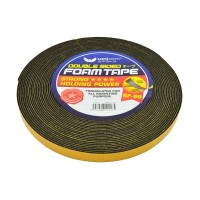 UNICORN BLACK DOUBLE SIDED FOAM TAPE UFT-12MMX10Y (144 Units Per Carton)