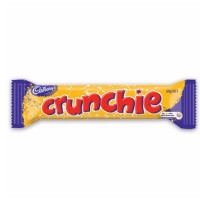 Cadbury Crunchie Milk Chocolate 50g