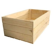 Wooden Crate[De Wood Panel][H150mm*L420mm*W245mm] (300g Per Unit) (192 Units Per Carton)