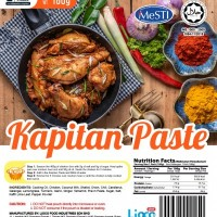[HALAL - Lioco Food] Kapitan Paste (Ready To Eat - Marketplace Harian) (24 Pack Per Outer)