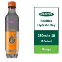 SPRITZER BONRICA HYDRATE - ORANGE BUY 1 FREE 1 (350ML X 18)