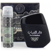 Dar Al Shabaab Oud Perfumes 100ml + Deodoran for Men