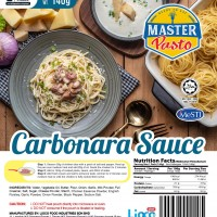 [HALAL - Lioco Food] Carbonara Sauce (Ready To Eat - Marketplace Harian) ( 48 Pack Per Carton )