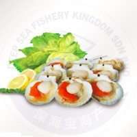 Half Shell Scallop with Roe 7cm-8cm