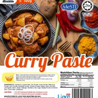 [HALAL - Lioco Food] Curry Paste (Ready To Eat - Marketplace Harian) (48 Pack Per Carton)