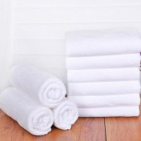 OEM Bath Towel White 100% Cotton 400g