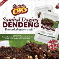 Sambal Daging Dendeng - 100g (20 Unit per Outer)