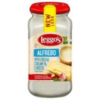 LEGGO'S Alfredo Pasta Sauce 490gm Bottle (6 Units Per Carton)