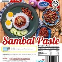 [HALAL - Lioco Food] Sambal Chili Paste (Ready To Eat - Marketplace Harian) (48 Pack Per Carton)