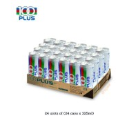 100 Plus Regular 325ml x 24 Cans - Wholesale Borong Price