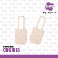 Bag2u Canvas Bag (Beige) CV61013 (200 Grams Per Unit)