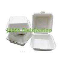 Biodegradable and Compostable Burger Box (50 Units Per Outer)